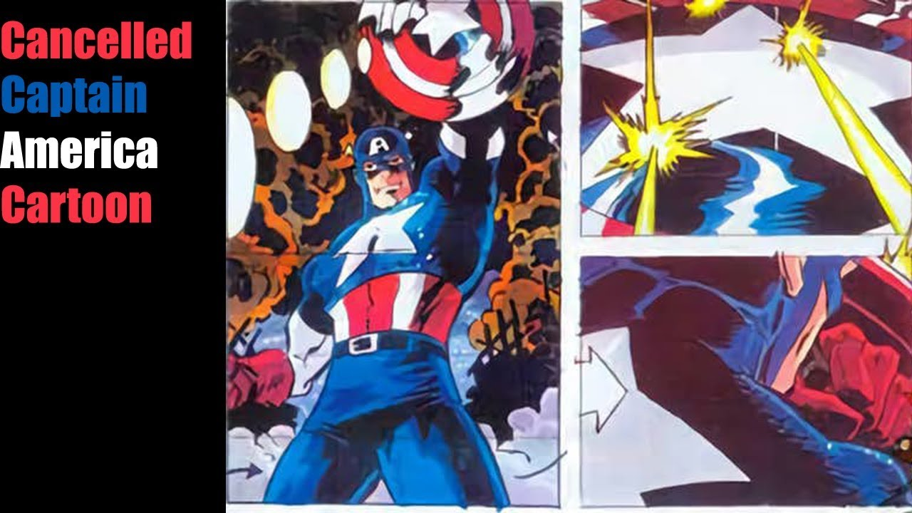 Captain America Cartoon Images: The Cancelled 90s Captain America Cartoon That We Never