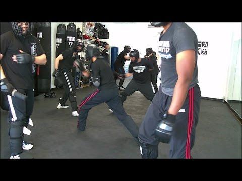 Krav Maga - Fight Class - March 18, 2017 (Knife vs. Knife/Long Range Techniques)