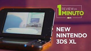 New Nintendo 3DS XL - ANÁLISE | REVIEW EM 1 MINUTO - ZOOM