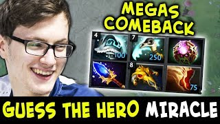 Guess the hero — Megas COMEBACK by MIRACLE