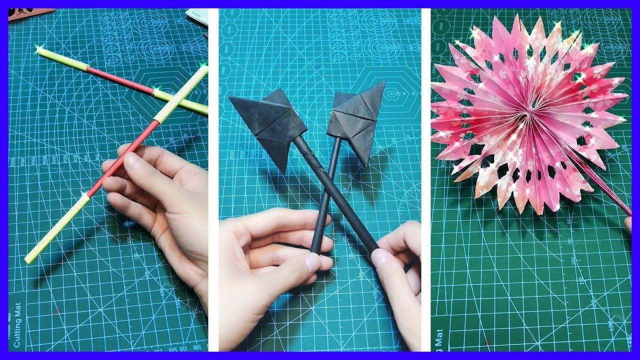 hài lòng & thư giãn video gấp giấy - origami art #27