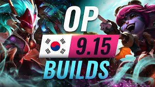 11 NEW Korean Builds to Copy in Patch 9.15 - League of Legends Season 9