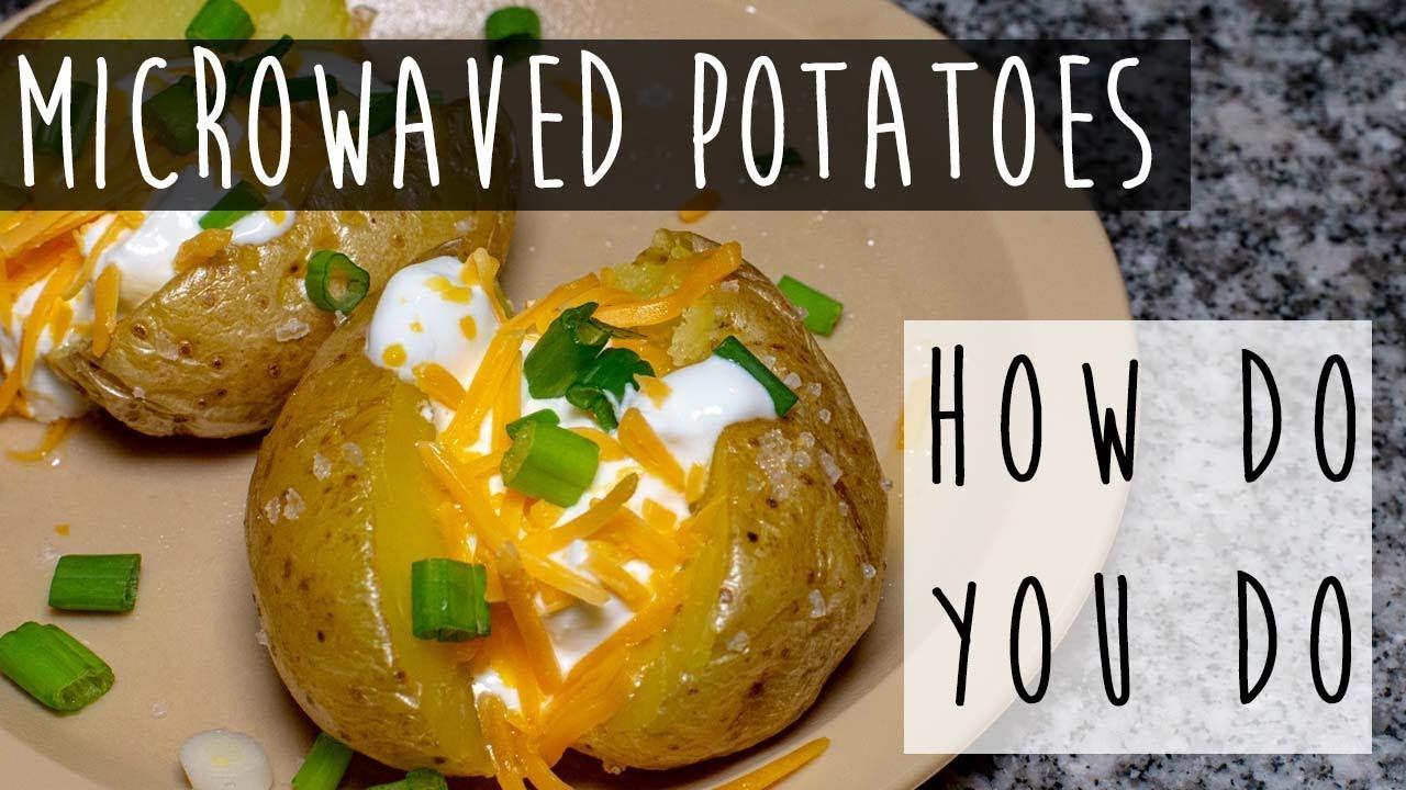 how do you microwave a baked potato