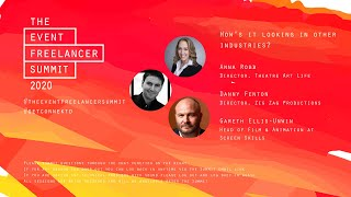 How's it looking in other industries   The Event Freelancer Summit 2020