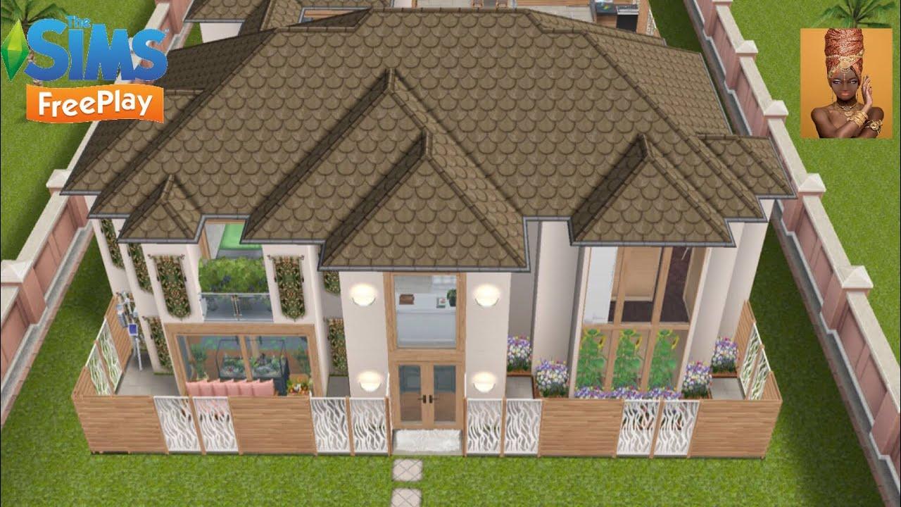 🗣 The Sims FreePlay 🌟 House Tour 🗣 - YouTube