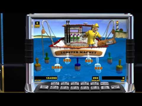 Lucky Larry's Lobstermainia - IGT Pokie Machine - Bonus Round -