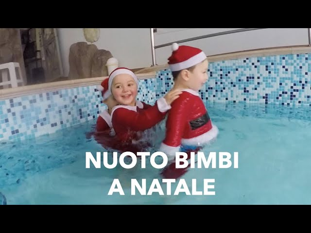 Acquaticità neonatale a Natale! Nuoto bimbi e baby nuoto for Christmas!