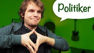 10 Arten von Politikern