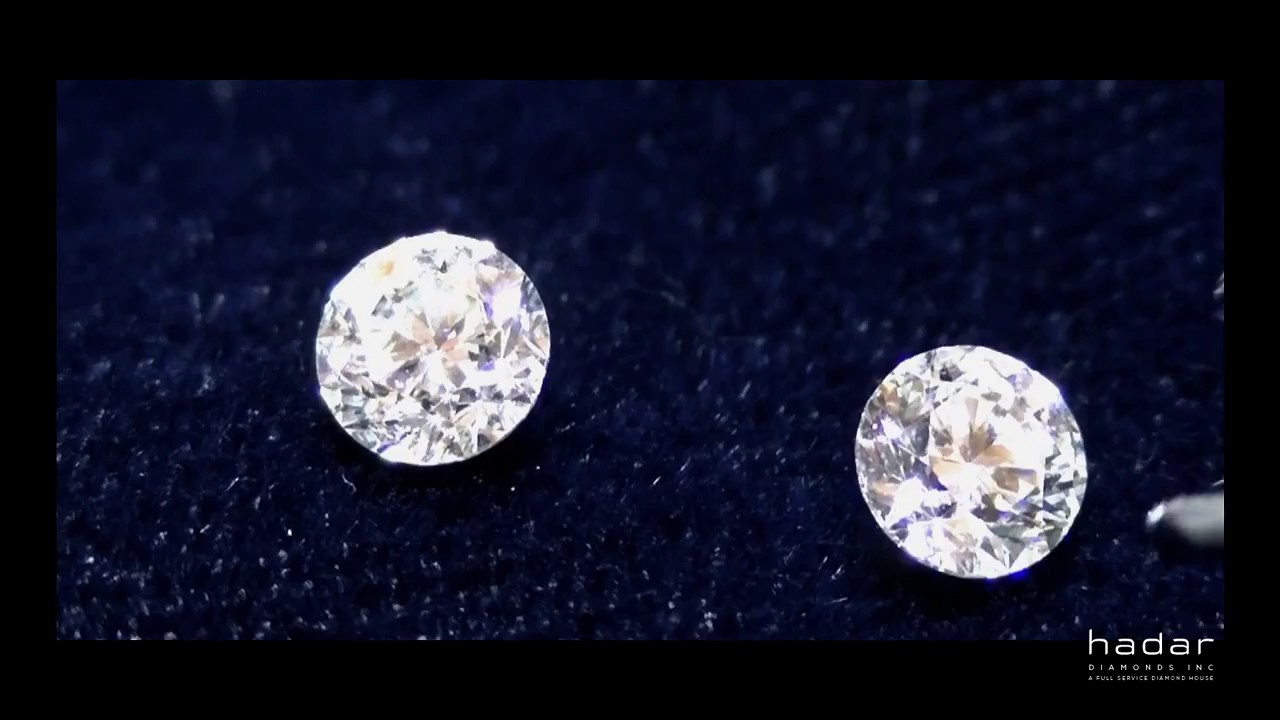 Cyber Monday Diamond Earrings 1 03 Tcw Round Brilliant Laser Drilled Diamonds