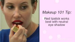 The Trick to Applying Red and Nude Lipstick Thumbnail