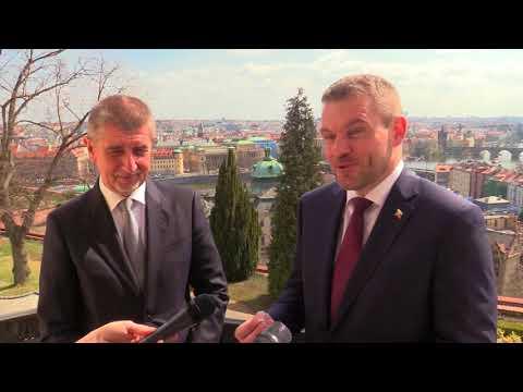 Navštěva slovenského premiéra