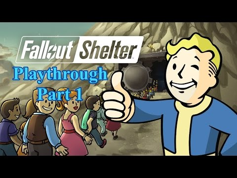 Fallout Shelter - Storage Room Unlocked - IOS / Android - Playthrough Part 1 - No Commentary