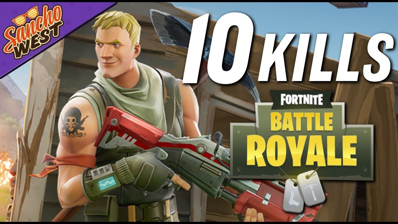 My 1st 10 KILL GAME! | Fortnite Battle Royale (PS4 ...