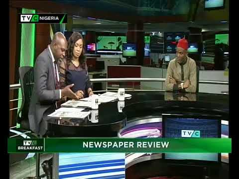 TVC Breakfast  14th August, 2018 | Newspaper Review