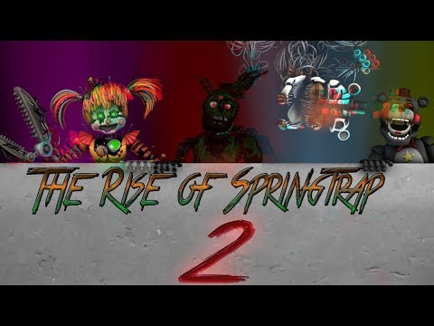[FNAF\SFM] The Rise Of Springtrap 2| Afton Family Russell Sapphire Remix