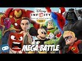 Disney Infinity Toy Box Mega Battle