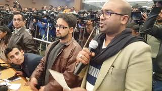 Farhan yahiya live coverage of Delhi Police Anual press conference 2018 commissioner Amulya patnayak