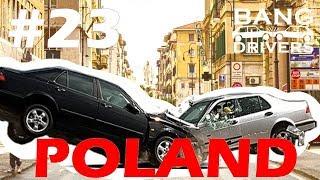 Polish Car Drivers Compilation Extreme Crashes & Fails #23