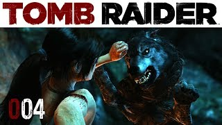 Tomb Raider #004 | Der böse Wolf | Let's Play Gameplay Deutsch thumbnail