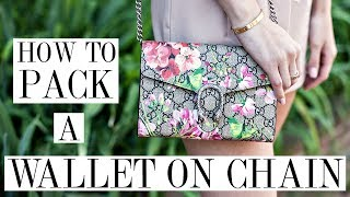 How To Pack A Wallet On Chain Gucci Dionysus Woc Review Shea Whitney Youtube