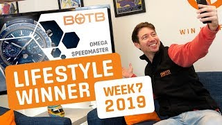 BOTB Lifestyle Competition! Paul Bushnell - Omega Speedmaster Moonwatch - Week 7 2019