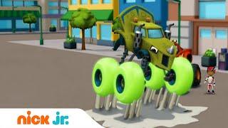 Вспыш и чудо-машинки | Прыгучие шины | Nick Jr. Россия
