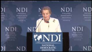 Remarks of Madeleine K. Albright