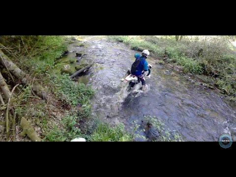 Sortie Enduro en Auvergne, printemps 2016 !