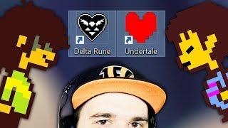 Undertale ♥ Что будет, если объединить Андертейл и Deltarune? (JOHN BRAIN) | Реакция