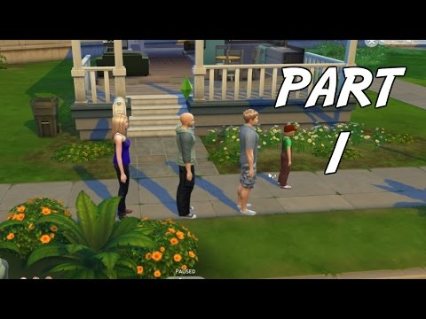 The Sims 4 Gameplay Walkthrough Part 1 - Inside the FGN Crew (PC)