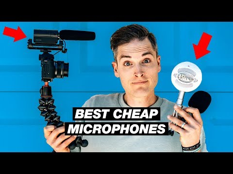 Best Cheap Microphones For YouTube Under $50