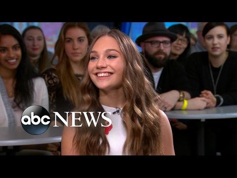 Teen dance prodigy Maddie Ziegler discusses her memoir live on