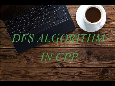 DFS Algorithm Code Implementation in cpp/c++ on a Linked List Graph