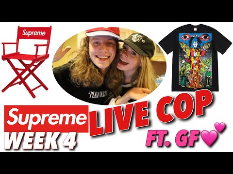 MY GIRLFRIEND COOKED! Supreme S/S '19 Week 4 Live Cop!