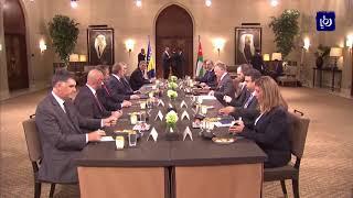 بحث العلاقات بين الأردن والبوسنة