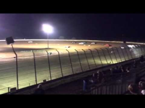 Clay county speedway 8/16/14 heat 2