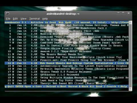 10 programs to be used from the terminal | Linuxaria