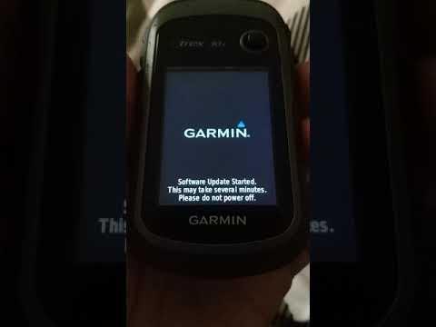 Garmin ETrex 30x Software System Missing