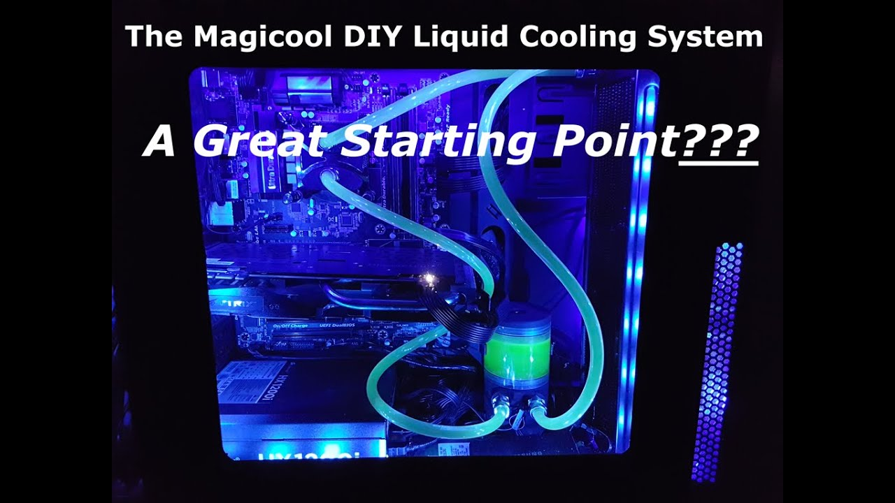 Magicool Diy Liquid Cooling System 360 Water Cooling