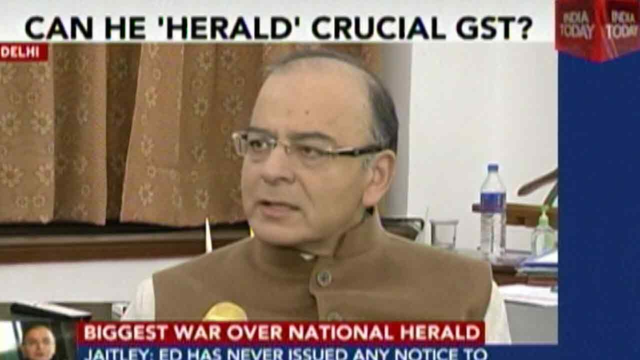 Arun Jaitley On The National Herald Case