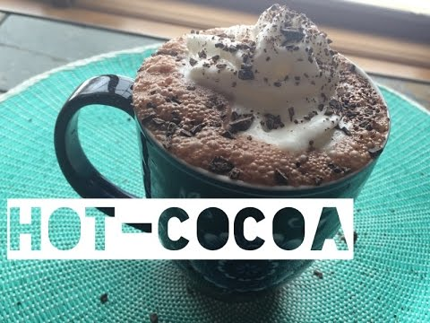 Healthy Hot Chocolate Recipe | How To Make Low Calorie Hot Chocolate With Cocoa Powder