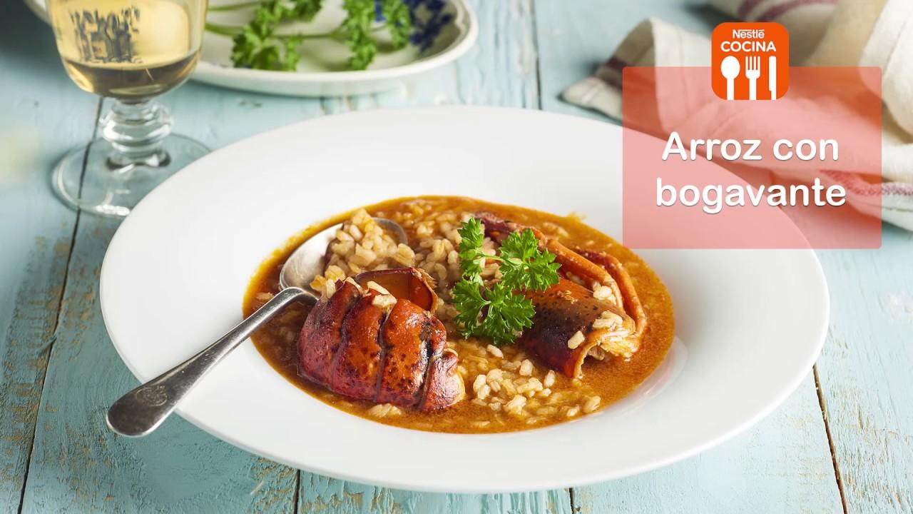 Recetas de cocina arroz con bogavante video