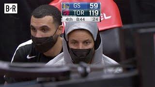Warriors Down 60 Points vs. Raptors