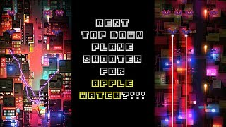 Wing Shooter - neon light action game for Apple Watch (by Cakeogame)