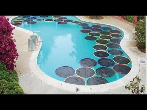 Weekend Project Lily Pad Pool Warmers Youtube