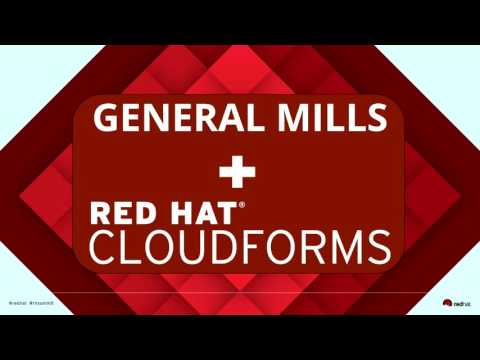 Red Hat CloudForms: Cutting VM creation time by 75% at General Mills