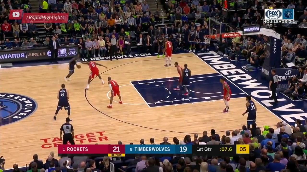 Houston Rockets vs Minnesota Timberwolves 1st Half ...