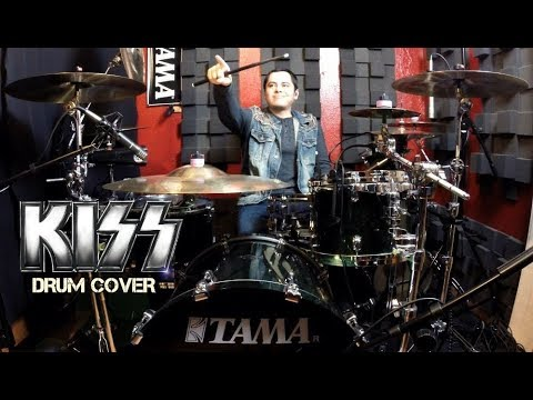 KISS - Lick It Up - Drum Cover