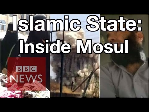 Iraq: Islamic State inside Mosul - BBC News