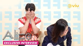 🙈 Shy Joo Won reads flattering comments from fans ☺️ | ALICE | Now on Viu